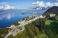 Noch sind die Baukräne vor Ort, im Sommer 2017 startet das Bürgenstock Resort Lake Lucerne