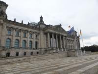 Gebäude des Bundestages im August 2016