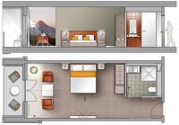 Ein Doppelzimmer im zukünftigen Carehotel in Schotten / Bildquelle: carehotels