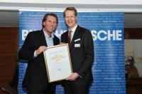 Carsten K. Rath, Gründer und CEO der Kameha Hotels & Resorts Johannes Großpietsch, Geschäftsführer Busche Verlagsgesellschaft mbH / Bildnachweis: Verlagshaus Busche Dortmund