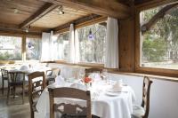 Restaurant mit Gartenblick / Bildquelle: Chesa Salis