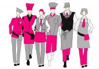 Der Berufskleidungsspezialist COMO Fashion bietet seinen Kunden maßgeschneiderte Kollektionen passend zur firmeneigenen Corporate Identity / Bildquelle: Beide COMO Corporate Fashion