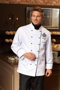 Como Fashion Kochjacke weiß:  Damit der Auftritt makellos ist, sollte ein Koch die Jacke täglich wechseln können und Reserve im Schrank haben; Alle Bilderechte COMO.
