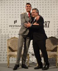 Cristiano Ronaldo und Dionísio Pestana / Bildquelle: The Pestana Hotel Group
