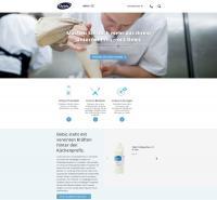 www.debic.com - neue Website / Bildquelle: FrieslandCampina Foodservice / Debic