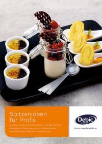Titel Rezeptbroschüre / Bildquelle: FrieslandCampina Foodservice / Debic