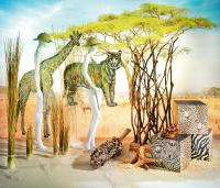 Safari Urlaubsdekoration