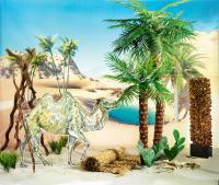 Urlaubsdekoration für den Afrika Urlaub; Bildquelle Deko Woerner