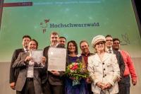 Die Sieger von der Hochschwarzwald Tourismus GmbH / Jan Sobotka/DTV