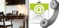 Derag Livinghotels bietet fortan kostenfreie Telefonie vom Zimmertelefon aus und Glasfaserleitungen. / Bildquelle: Derag Livinghotels