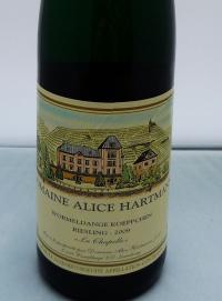 Domaine Alice Hartmann aus Wormeldange 2009er