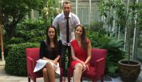 v.l.n.r.: Nicole Zorn, Marcus Maximilian Wöhrl, Kirsten Neumann / Bildquelle: Dormero Hotels