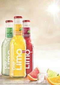 granini DIE LIMO: Mit dem für Eckes-Granini Deutschland völlig neuartigen Produktkonzept ist der Vorstoß ins Marktsegment der Limonaden erfolgreich gelungen / Bildquelle: Alle Eckes-Granini