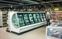 Der neue Tiefkühlschrank Iconic von Viessmann macht den Einkauf im neuen Edeka Hieber in Schopfheim zum bequemen Erlebnis. Foto: Viessmann Kühlsysteme