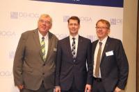 Ehemaliger Präsident Hermann Kröger, DEHOGA Bundespräsident Guido Zöllick, Präsident Detlef Schröder / Bildquelle: DEHOGA Niedersachsen