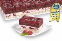 Himbeer-Cranberry-Crisp-Schnitte / Bildquelle: erlenbacher