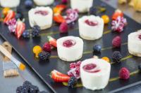 Mini Cheesecakes Strawberry / Bildquelle: erlenbacher backwaren GmbH