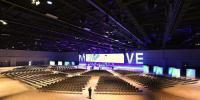 Die Convention Hall II ist 4.600 Quadratmeter groß und bietet Platz für 5.200 Personen. / Bildquelle: Sven Hobbiesiefken