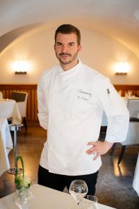 Florian Vogel im  Camers Schlossrestaurant; Bildquellen pr-office.info