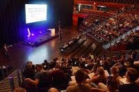 Vor einem Jahr wurde das Forum VIA in der Großen Halle eröffnet, diesmal kehrt der Kongress von Azubis für Azubis ins neue Congress Centrum zurück. / Bildquelle: MCC Halle Münsterland