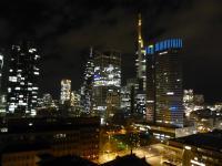 Die Frankfurter Skyline genießen alle Hotelgäste mit einem Hotelzimmer nach Norden