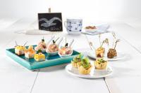 Jede Portion eine Genussreise: Friesisch Tapas von Friesenkrone — das Fingerfood mit Story. Friesisch Tapa Hering Finkenwerder Art; Bild Friesenkrone
