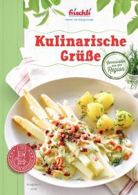 """Rezeptbroschüre """"Kulinarische Grüße"""" / Bildquelle: frischli Milchwerke GmbH"""