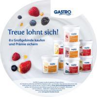 GASTRO Eimer-Etikett / Bildquelle: FrieslandCampina Foodservice / GASTRO