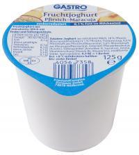 Fruchtjoghurt 0,1% Fett 125g Pfirsich-Maracuja / Bildquelle: FrieslandCampina Foodservice / GASTRO