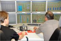 In der Leitstelle werden alle Anlagen rund um die Uhr überwacht. / Bildquelle: gc Wärmedienste GmbH