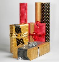 .. schönem, bedrucktem Kraftpapier werden Weihnachtsgeschenke der Eyecatcher!