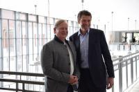 Prof. Dr. Dietrich Grönemeyer und Marcus Graf von Oeynhausen-Sierstorpff / Bildquelle: Gräflicher Park Grand Resort
