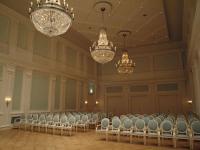 Auch als Tagungsraum nutzbar: Der historische Ballsaal im Grand Hotel Heiligendamm