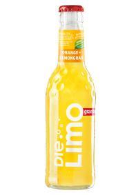 Ganini Die Limo Orange Lemongras für für die Gastronomie