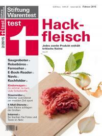 Hackfleisch Test; Bildquelle Stiftung-Wartentest
