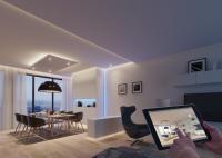 Lichtsteuerung per App. Häfele Connect macht's möglich. / Bildquelle: Häfele