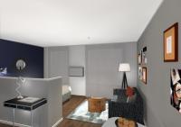 Mit eigener Klingel und Briefkasten bietet das Boardinghouse ein komfortables Zuhause auf Zeit mit persönlicher Wohnatmosphäre. Quelle: DQuadrat Living
