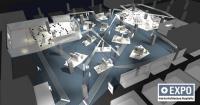 Die Interior.Architecture.Hospitality Expo in Halle 4.2 / Bildquelle: Messe Frankfurt