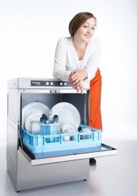 Neue Ecomax Modelle mit geringerem Wasserverbrauch, einfacherer Bedienung und geringerem Schmutzeintrag sind ab dem 1. Juli verfügbar. / Bildquelle: HOBART GmbH