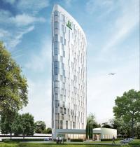 Visualisierung des Holiday Inn Hamburg-City Nord / Bildquelle: Lüchow Medien & Kommunikation
