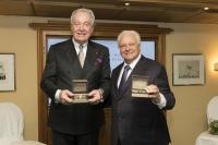 Hermann Bareiss und Eckart Witzigmann / Bildquelle: Hotel Bareiss GmbH