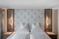 Schlafzimmer der Kristall Suite / Quelle: Alexander Maria Lohmann (Hotel Hochfirst)