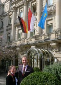 Julia und Constantin von Deines / Bildquelle: Hotel Nassauer Hof