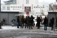 Die Dreharbeiten zum Polizeiruf 110 / Bildquelle: Beide Hotel Neptun