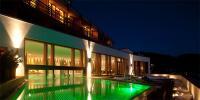 Aussenpool bei Nacht / Quelle: Hotel NIDUM