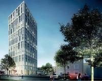 """Visualisierung des Hotelneubaus """"Hotel Stadt Lörrach""""  / Bildquelle: RIMC Hotels & Resorts"""
