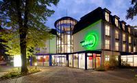 Das HOTEL ambiente Am Kurpark Bad Wilsnack im Abensdlicht; Bildquelle medienkontor.net