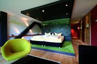 Doppelzimmer STAR grün / Quelle: Hotel Seespitz-Zeit