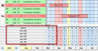 Belegungsplan Version 19 / Bildquelle: hotline hotelsoftware gmbh