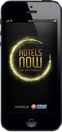Last-Minute-App HOTELS NOW von HRS, gleichzeitig Bildquelle